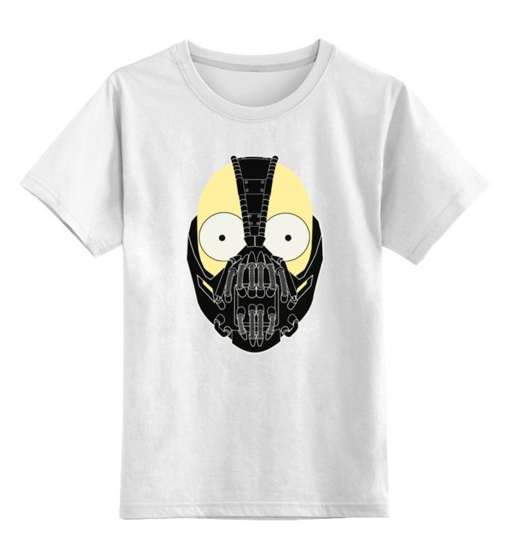 Детская футболка классическая унисекс Printio Бейн (bane)