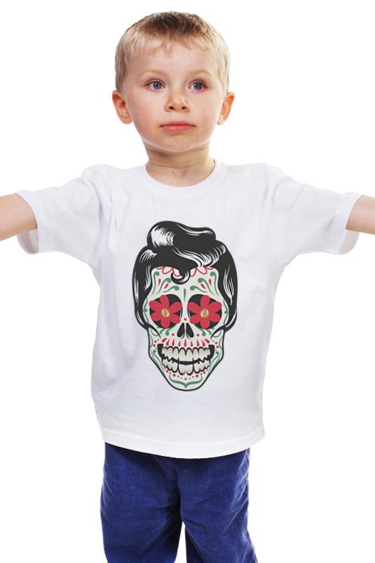 Детская футболка классическая унисекс Printio Мексиканец фреска мексиканец