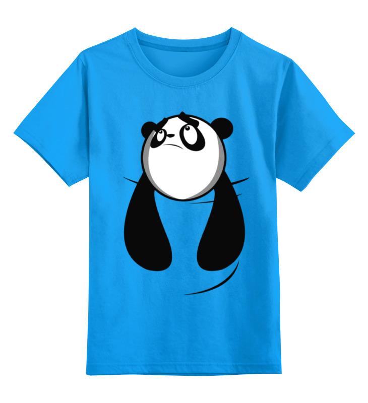 Детская футболка классическая унисекс Printio Панда (panda) детская футболка классическая унисекс printio король панда