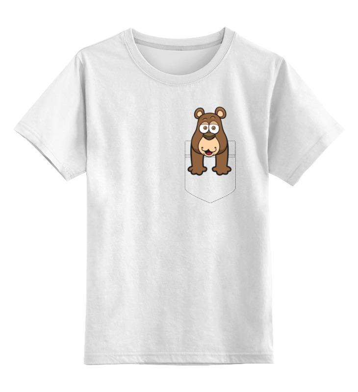 Детская футболка классическая унисекс Printio Мишка детская футболка классическая унисекс printio мишка в цветах