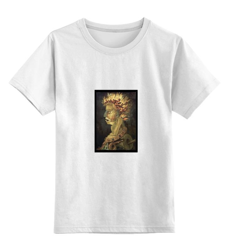 Детская футболка классическая унисекс Printio Огонь