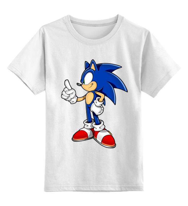 Детская футболка классическая унисекс Printio Sonic the hedgehog футболка классическая printio sonic dance