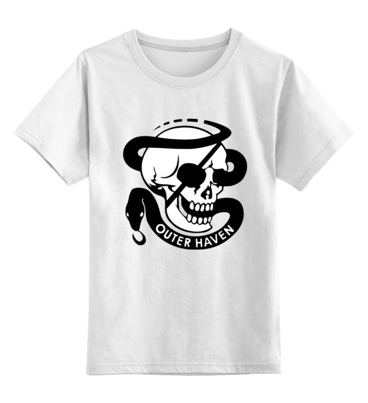 Детская футболка классическая унисекс Printio Череп и змея детская футболка классическая унисекс printio череп и скейты