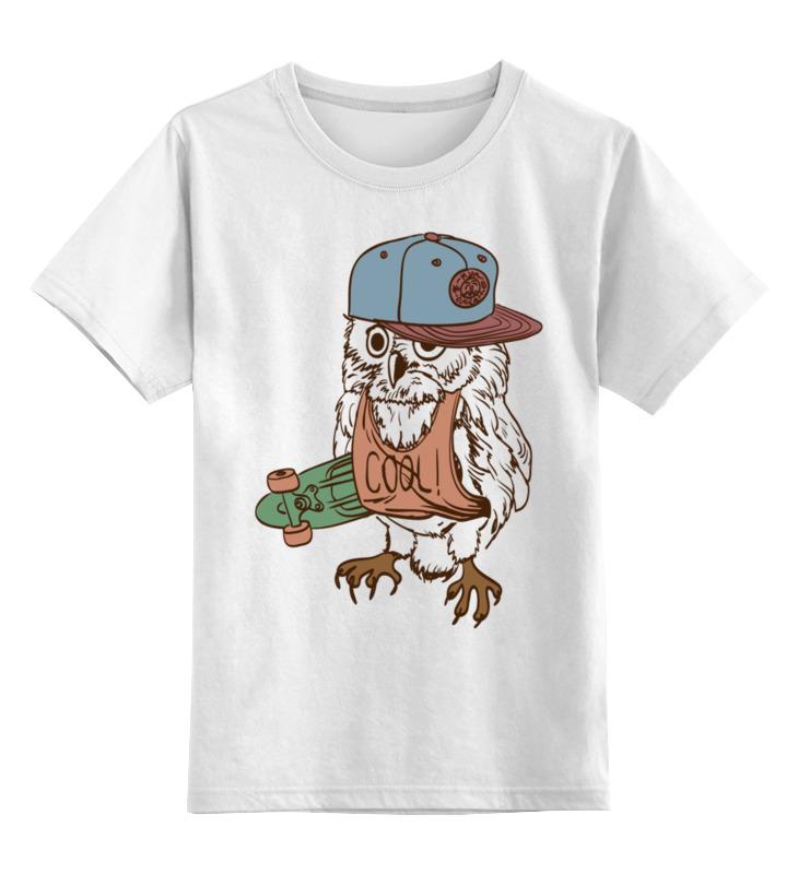 Детская футболка классическая унисекс Printio Сова.
