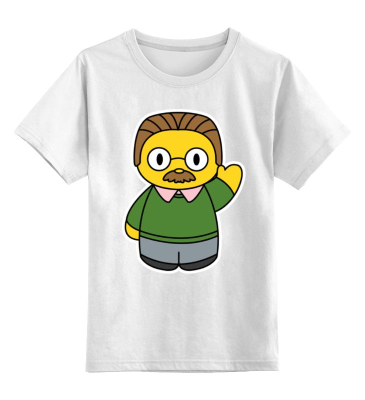 Детская футболка классическая унисекс Printio Фландерс hamlet ned r