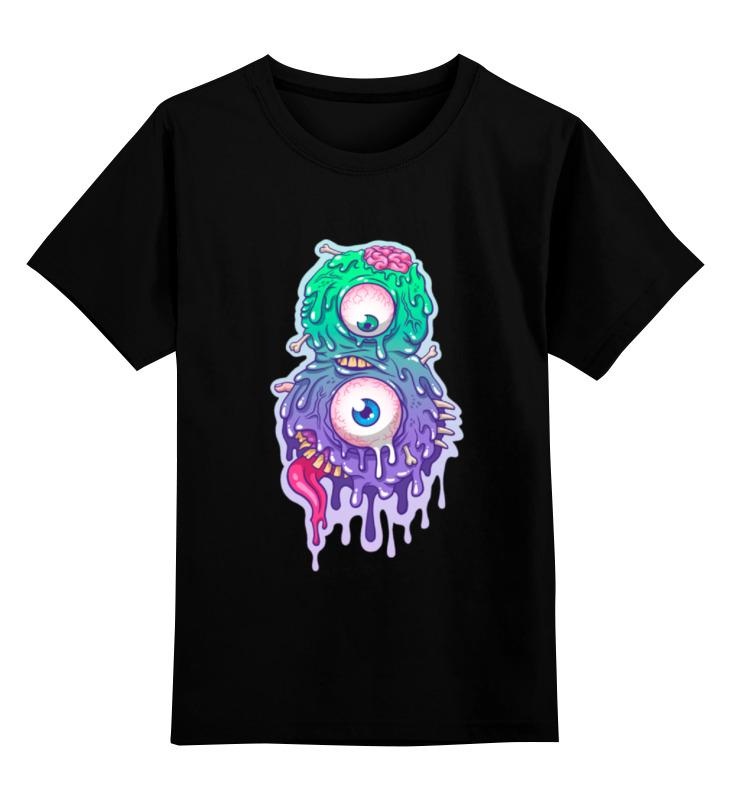 Детская футболка классическая унисекс Printio Восемь монстр (8 монстр) финансовый монстр