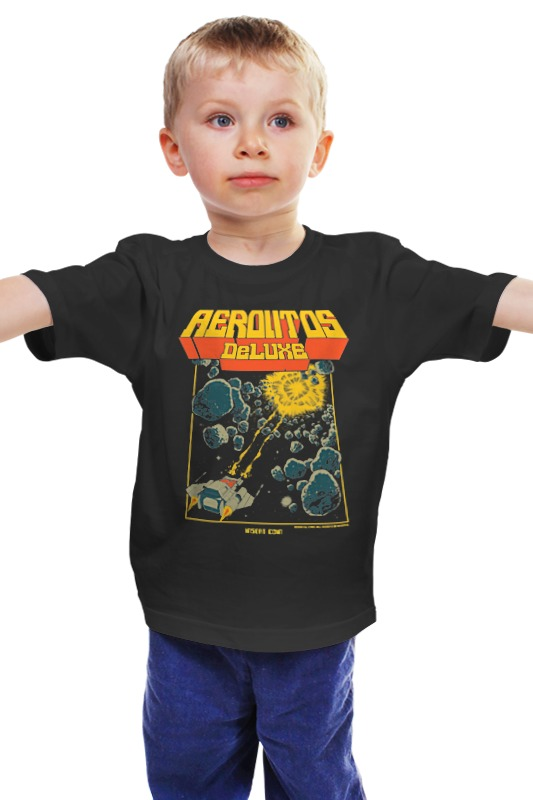 Детская футболка классическая унисекс Printio Аркада