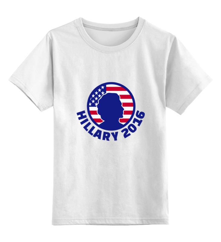 Детская футболка классическая унисекс Printio Hillary 2016 кепка printio hillary 2016