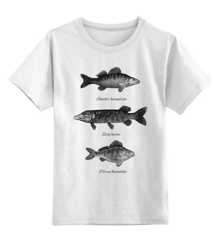 Детская футболка классическая унисекс Printio Коллекция рыб коллекция