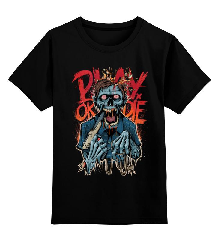 Детская футболка классическая унисекс Printio Зомби геймер детская футболка классическая унисекс printio зомби папа