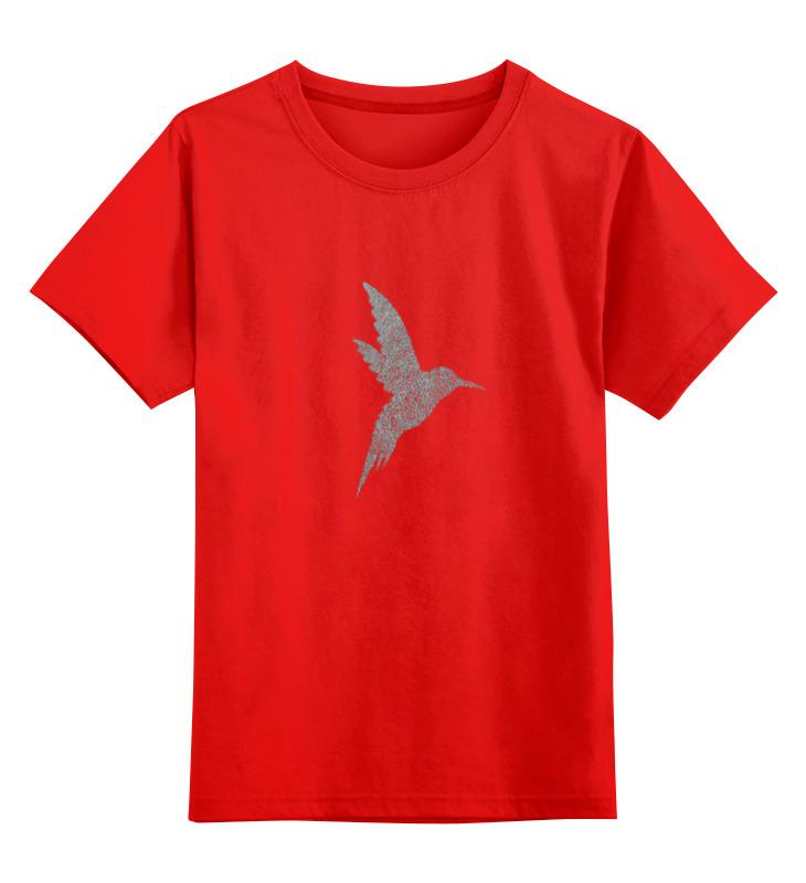 Детская футболка классическая унисекс Printio Vector bird vector hx300