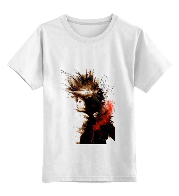 Фото - Детская футболка классическая унисекс Printio Girl in sepia футболка рингер printio girl in sepia