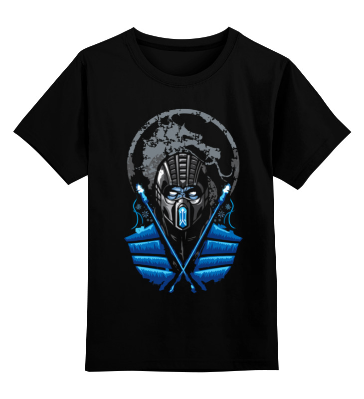 Детская футболка классическая унисекс Printio Саб-зиро (мортал комбат)