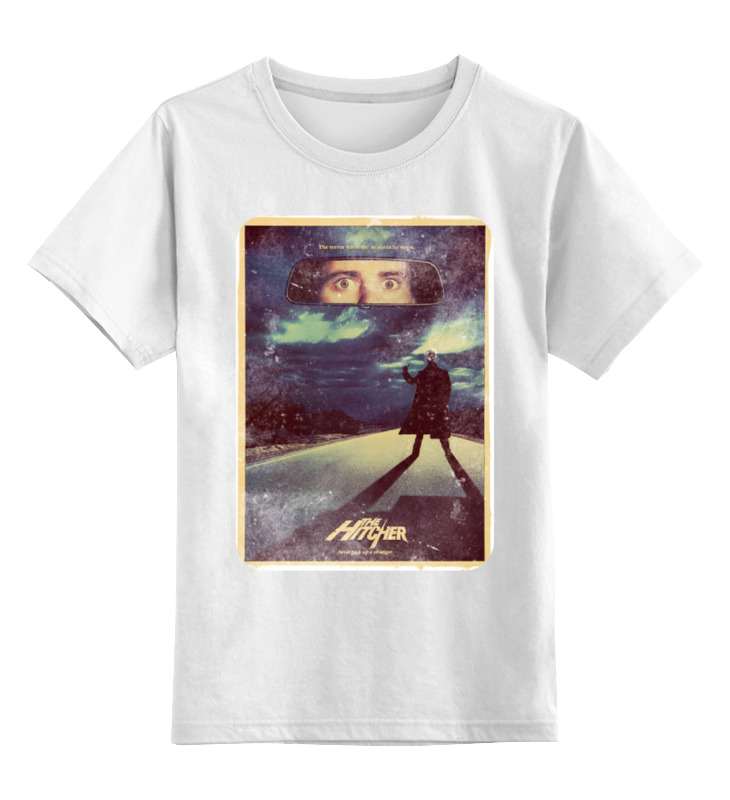 Детская футболка классическая унисекс Printio Попутчик фабрика игр дрожь призрачный попутчик