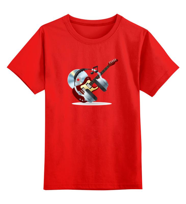 Детская футболка классическая унисекс Printio Гитара