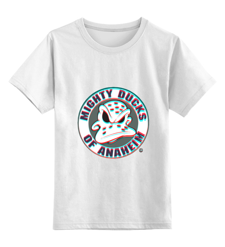 Детская футболка классическая унисекс Printio Anaheim ducks худи print bar reservoir ducks