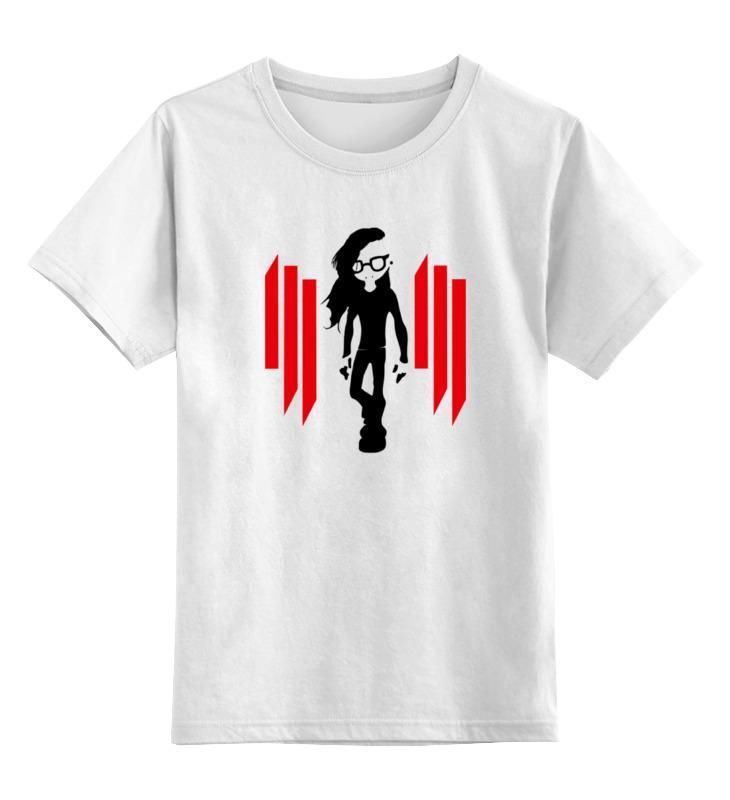 Детская футболка классическая унисекс Printio Skrillex