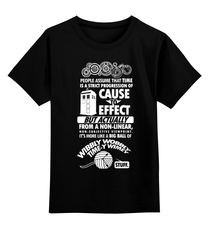 цена Детская футболка классическая унисекс Printio Tardis (тардис)