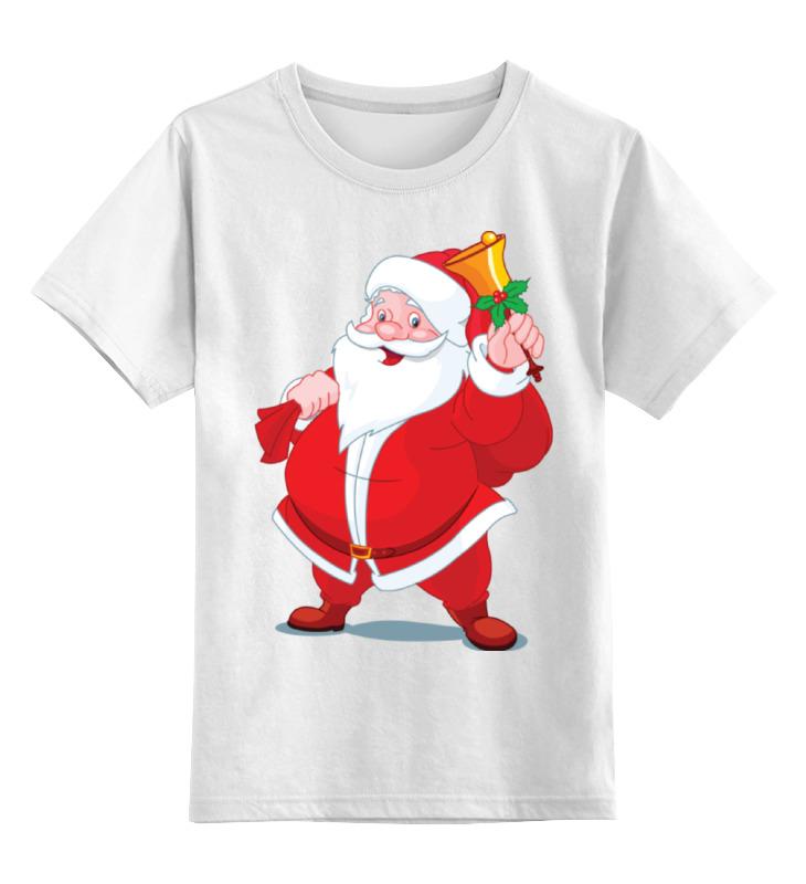 Детская футболка классическая унисекс Printio Санта клаус newman sonata since beethoven 3ed