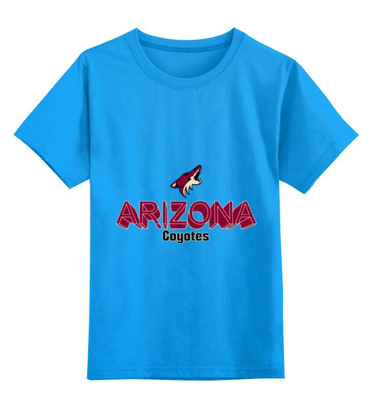 Детская футболка классическая унисекс Printio Аризона койотис