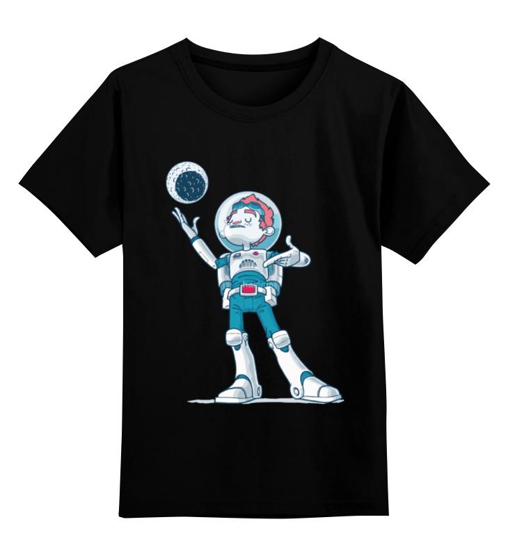 Детская футболка классическая унисекс Printio Astroboy / астронавт телескоп ioptron astroboy оранжевый