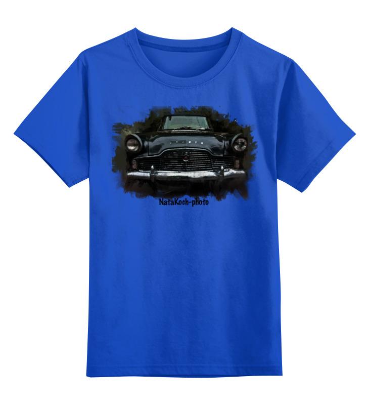 Детская футболка классическая унисекс Printio Автомобиль автомобиль б у ставропольский край