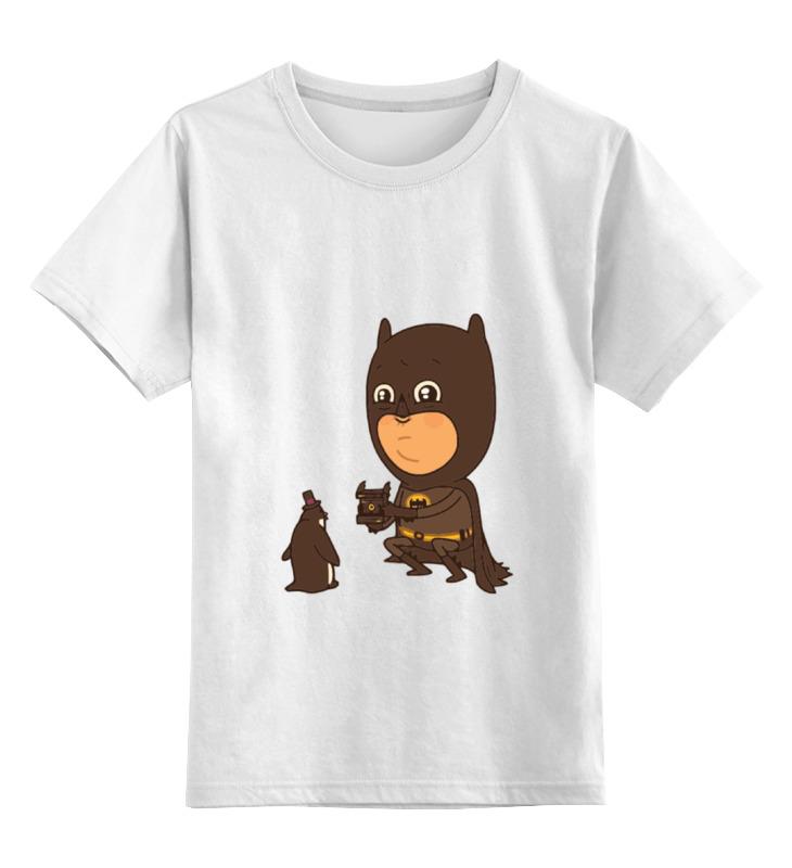 Детская футболка классическая унисекс Printio Бэтмен и пингвин authentic models authentic models ap455