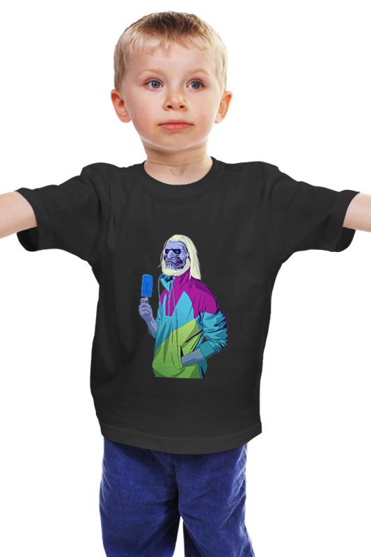 Детская футболка классическая унисекс Printio Белый ходок василий сахаров ходок