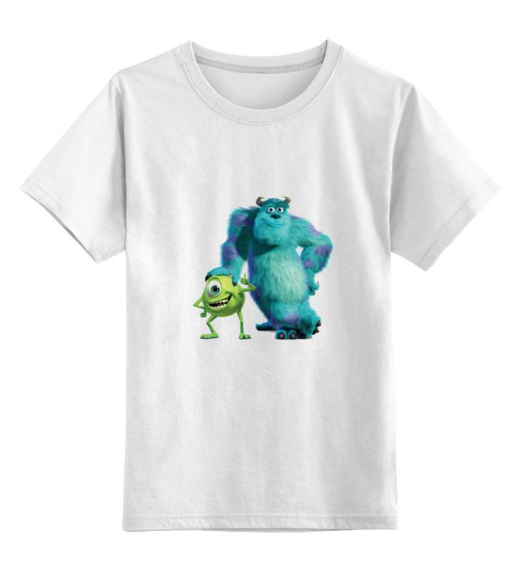 Детская футболка классическая унисекс Printio салли и вазовский футболка классическая printio джеймс пи салливан салли