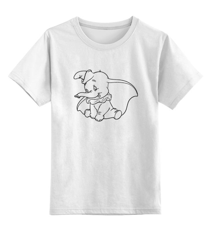 Детская футболка классическая унисекс Printio Слоненок цена и фото