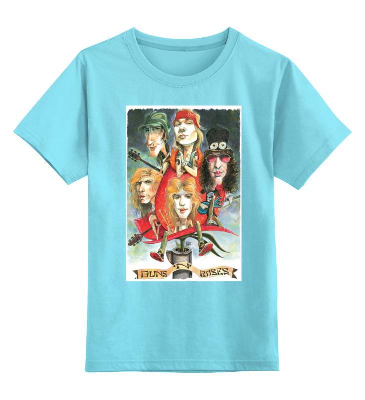 Детская футболка классическая унисекс Printio Guns n' roses детская футболка классическая унисекс printio guns n roses