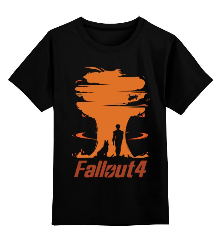 Детская футболка классическая унисекс Printio Fallout 4 видеоигра для ps4 fallout 4