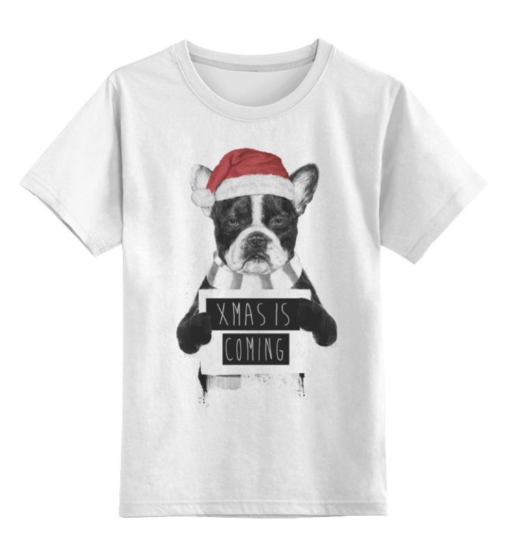 Детская футболка классическая унисекс Printio Скоро новый год футболка рингер printio скоро новый год