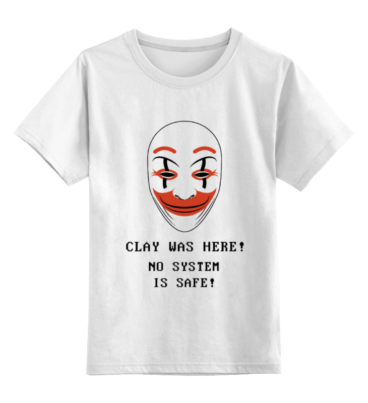 Детская футболка классическая унисекс Printio Хакеры clay 50 clay composite striped dice 11 5 gram poker chips by brybelly