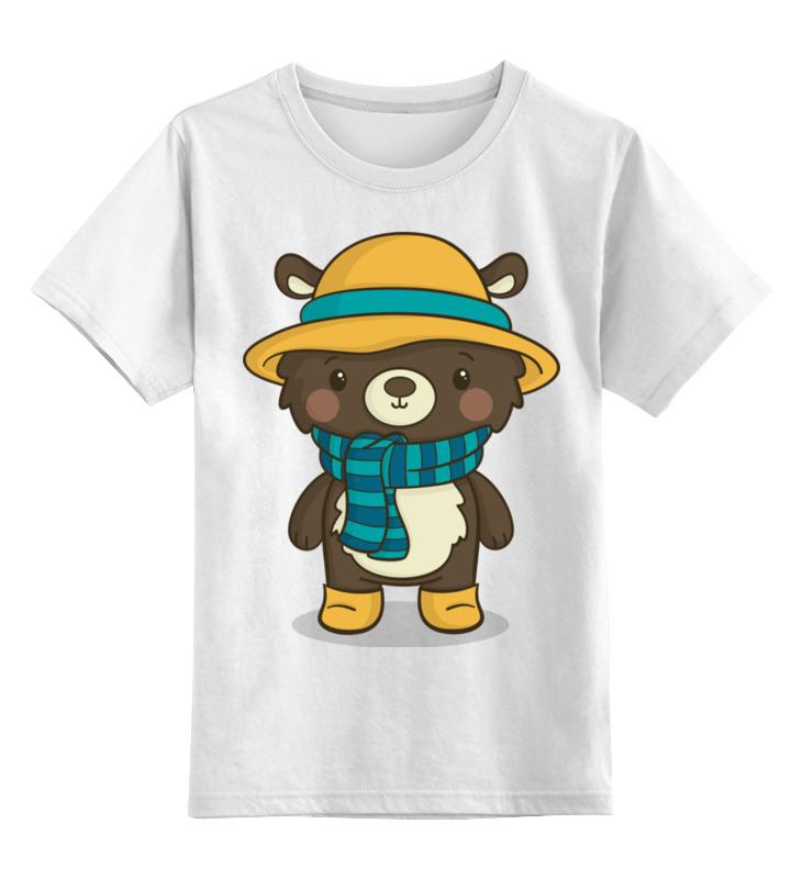 Детская футболка классическая унисекс Printio Медвежонок цена и фото