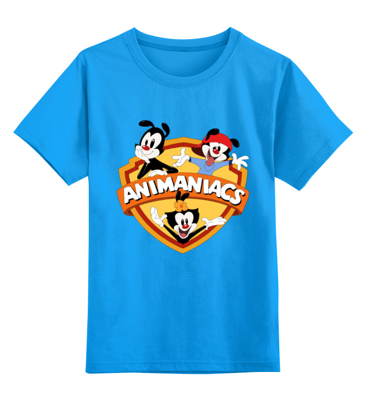 Детская футболка классическая унисекс Printio Озорные анимашки