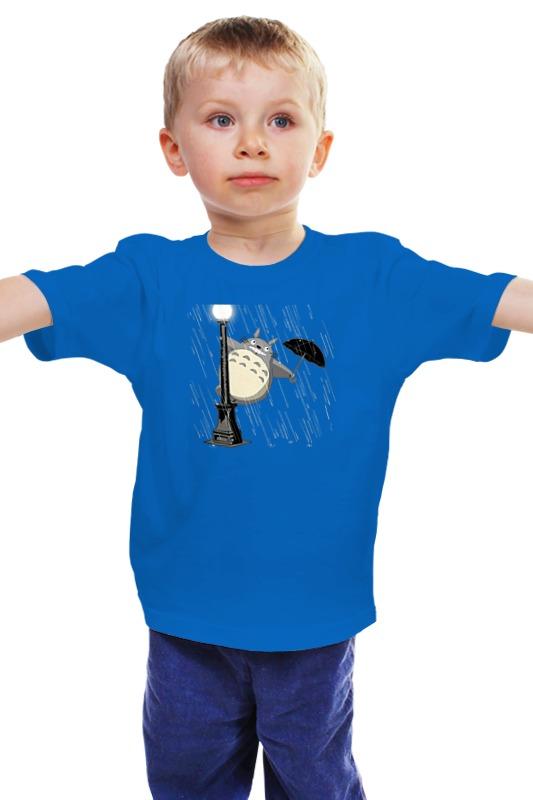 Детская футболка классическая унисекс Printio Поющий под дождём мария викторовна корчагина под лондонским дождём