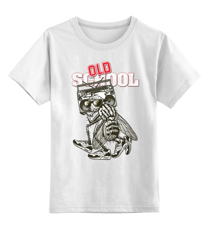 Детская футболка классическая унисекс Printio Old school style футболка old school