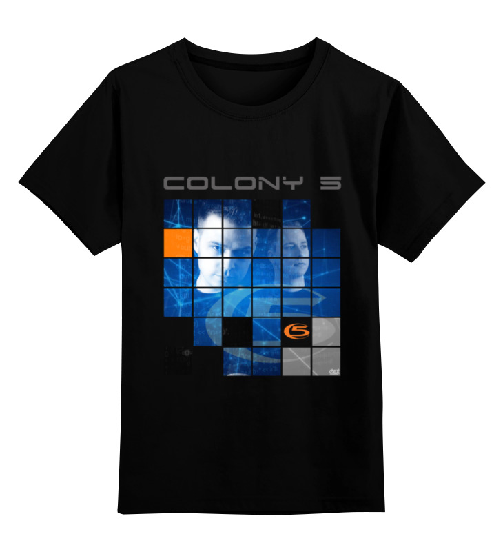 цена Детская футболка классическая унисекс Printio Colony 5 онлайн в 2017 году