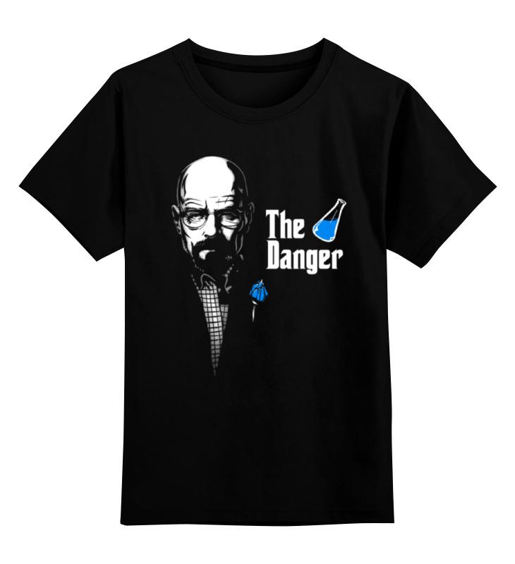 Детская футболка классическая унисекс Printio The danger футболка print bar danger toxic