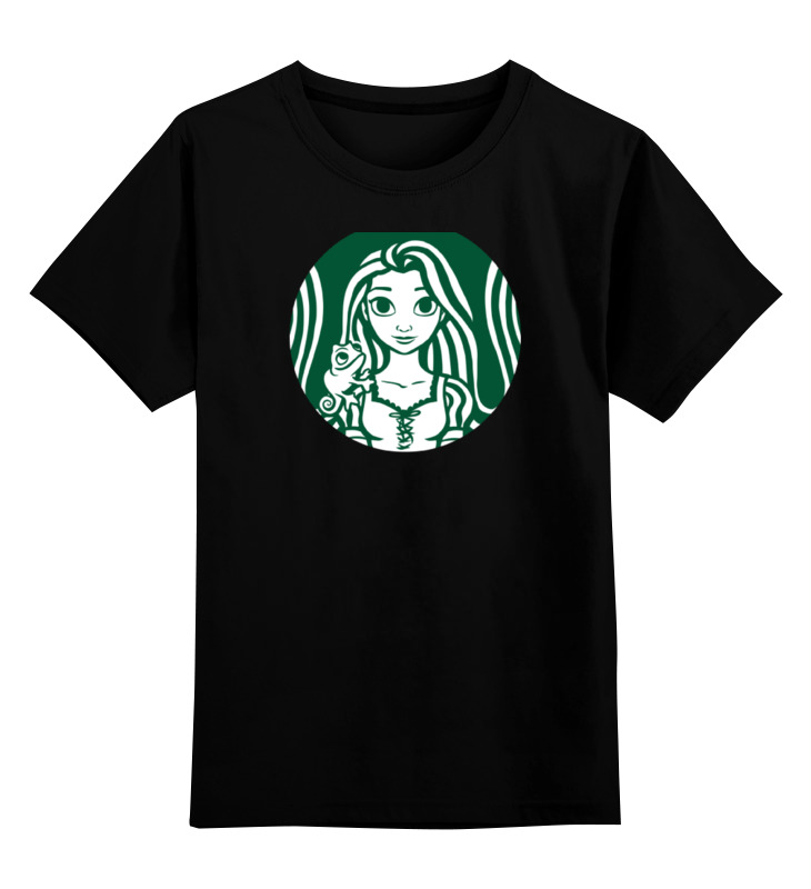 Детская футболка классическая унисекс Printio Рапунцель футболка классическая printio рапунцель