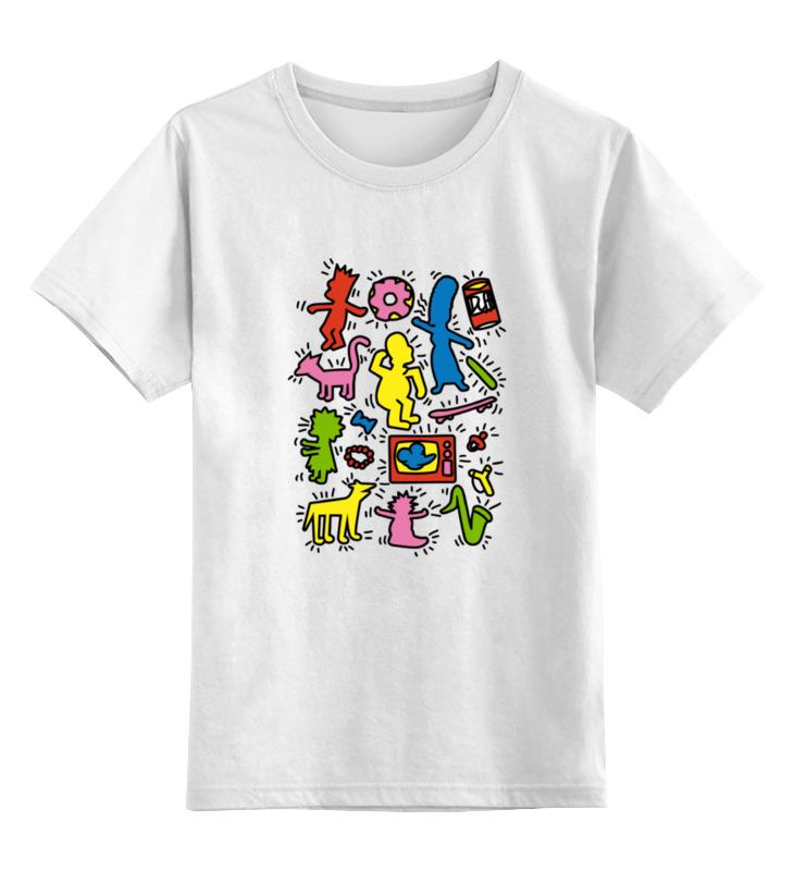 Детская футболка классическая унисекс Printio Симпсоны (the simpsons)