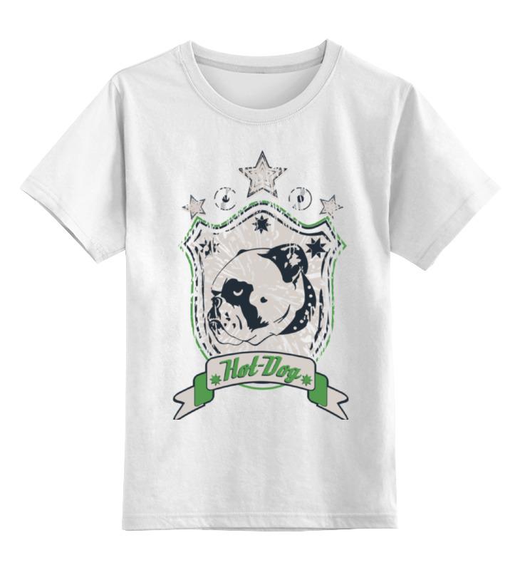 Детская футболка классическая унисекс Printio Бульдог футболка классическая printio gta 5 dog