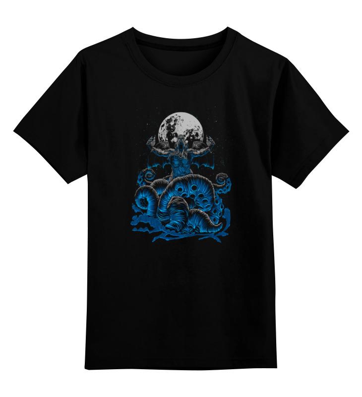 Детская футболка классическая унисекс Printio Зов ктулху