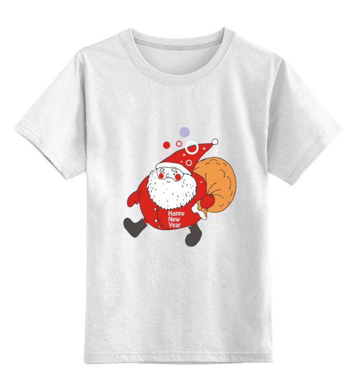 Детская футболка классическая унисекс Printio Happy new year! new original ki0209 warranty for two year