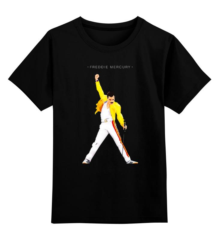 Детская футболка классическая унисекс Printio Freddie mercury - queen детская футболка классическая унисекс printio fitness queen