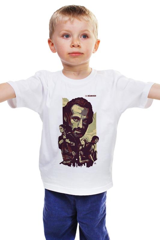 Детская футболка классическая унисекс Printio The walking dead худи print bar the walking dead