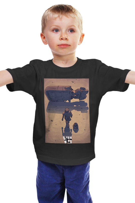 Детская футболка классическая унисекс Printio Star wars / akira ray's speeder/ спидер рэй
