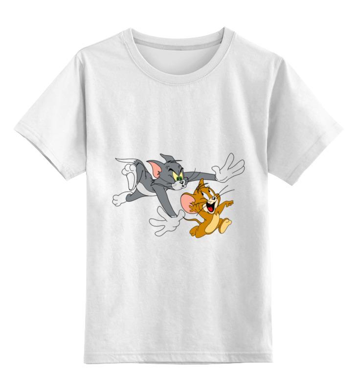 Детская футболка классическая унисекс Printio Том и джерри велосипед детский navigator том и джерри цвет желтый 16 вн16114