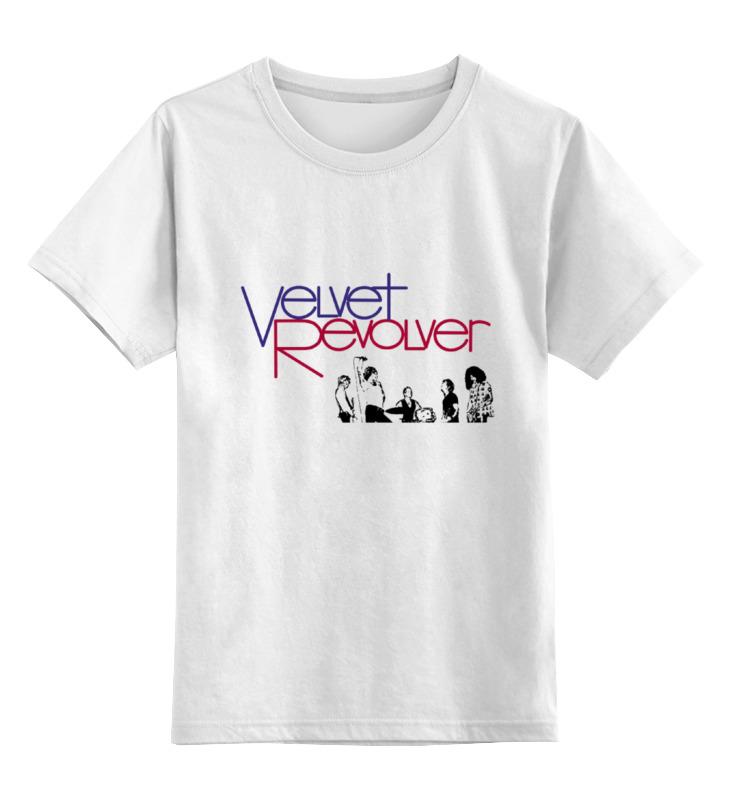 Детская футболка классическая унисекс Printio Velvet revolver цены